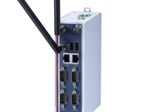 Robusten Embedded PC za DIN letev – IoT Gateway