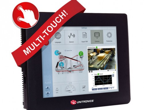 "PLC kontroleri Unistream sa ""multitouch"" displejem"