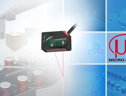 Kompaktan laserski triangulacijski senzor pomaka