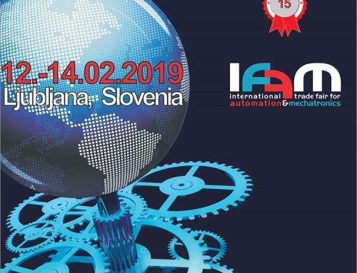 Pozivnica za sajam tehnike IFAM 2019