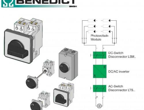 Benedict LSM mini DC fotonaponski prekidači za solarne panele