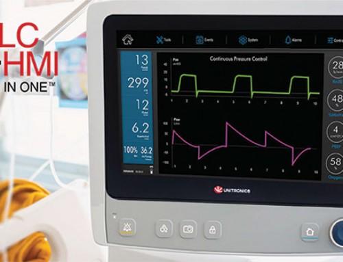 DIHAM respirator pomoću Unitronics PLC-a