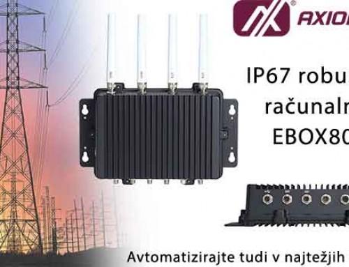 Axiomtek IP67 industrijski računar eBox800-511