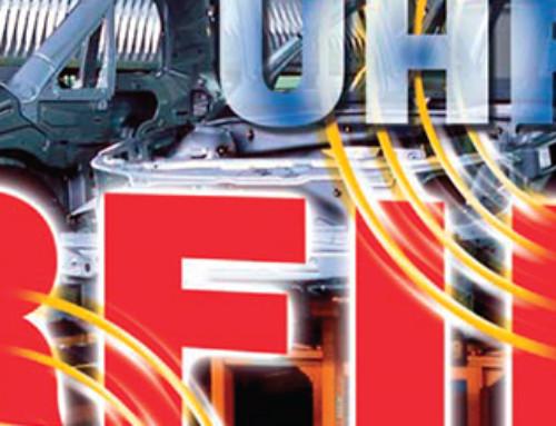 Modularni industrijski RFID sistem