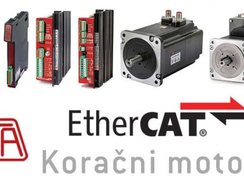 Step motori i step drajveri sa EtherCAT komunikacijom